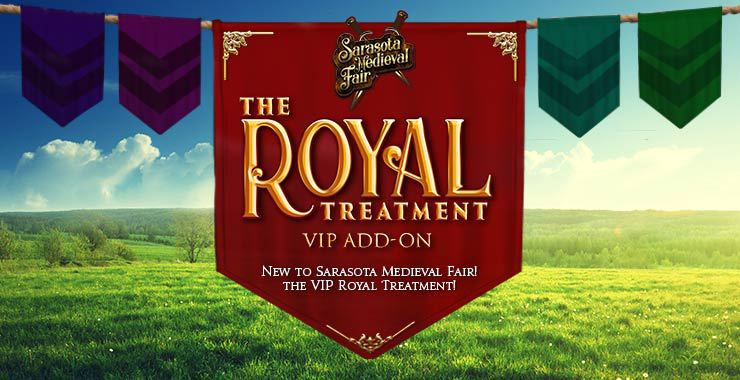 VIP Royal Treatment